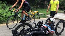 香港殘疾運動員施杰浩(Ajmal Samuel)挑戰大帽山帽嶺盃   創下香港紀錄備戰K2K遠征計劃   以手動單車由喀什前往卡拉奇   望促進社會共融