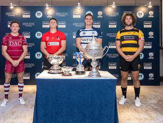 香港欖球總會Hong Kong Rugby Union 以「盛寶金融本地男子超級欖球聯賽」Saxo Markets Men's Premiership 作為開賽頭炮