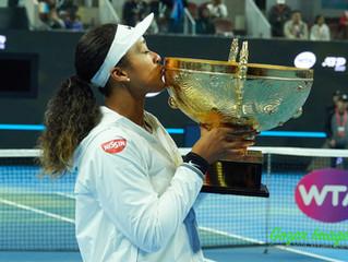 亞洲選手首奪中國網球公開賽China Open冠軍  大坂直美Naomi OSAKA逆轉巴蒂Ashleigh BARTY獲第5冠