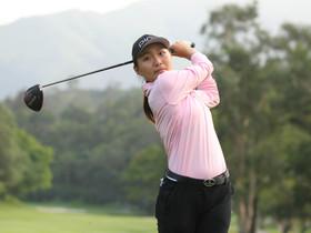 第五屆「盈豐香港女子高爾夫球公開賽」 展開首圈賽事  中國球員杜墨含及張維維 分別領先榜首及次名位置  香港球員陳芷澄及梁稀嵐 今以低標準兩桿完成賽事