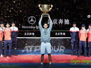 中國網球公開賽China Open男單決賽Men's Singles Final 蒂姆Dominic THIEM (AUT)決勝盤強勢逆轉西西帕斯Stefanos TSITSIPAS (GRE)  奪