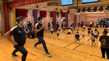 第63屆體育節「從『身』出發 凝聚你我」香港運動員到訪學校 送上「從身出發開學套裝」  網上有獎遊戲齊玩鬥「瘦」棋