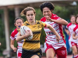 「畢馬威女子欖球超級聯賽」 KPMG Women's Premiership 華利Valley全力鬥九龍Kowloon勢要保金身