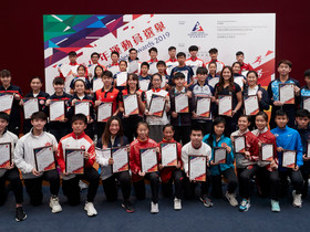 傑出青少年運動員選舉 2019年第3季頒獎典禮表揚30位體壇新秀