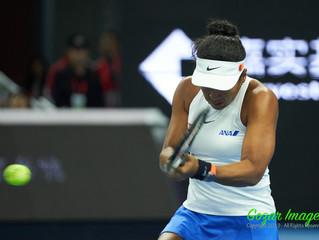 大坂直美Naomi OSAKA (JPN) 完勝沃茲Caroline WOZNIACKI (DEN)首進中網China Open決賽
