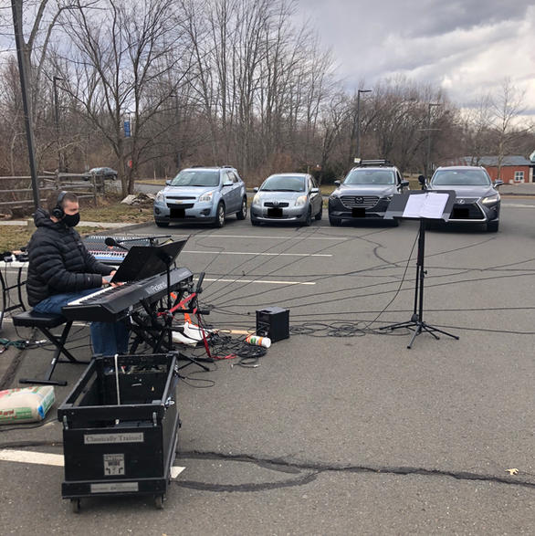 Our first car rehearsal!