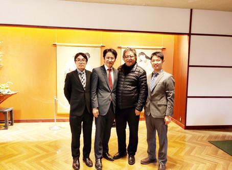 中国瀋陽のHe Universityと国際共同研究の打ち合わせをしました