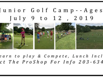 Summer Golf Camp 2019