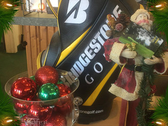 Golf Shop open through Christmas Eve