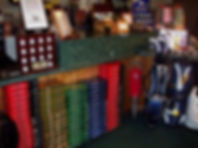 Pro Shop merchandise at Hunter Golf Club