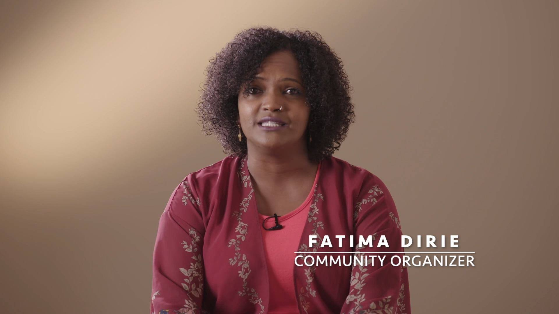 Fatima Dirie Endorses Luz for Mayor