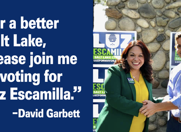 David Garbett on SLC Mayoral Race