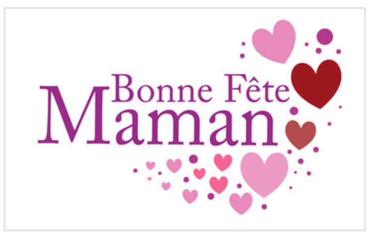Bon Cadeau Spécial Fête des Mamans