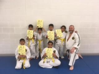 New Junior Yellow Belts