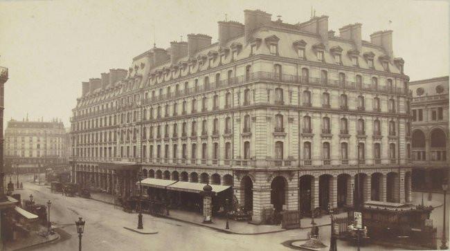 L'hôtel Terminus, actuellement Hôtel Hilton
