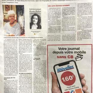 La presse en parle : le #BB_Project  dans l'édition du 30 septembre de Toutes Les Nouvelles