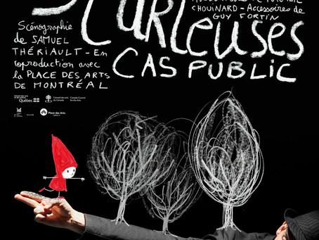 """Deux classes de l'école Jean Jaurès voient """"Suites curieuses"""" au Théâtre de Saint Quen"""
