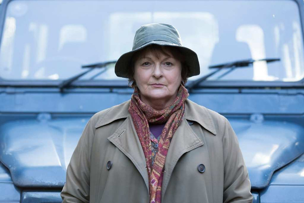 VERA Brenda Blethyn Photo by Charlotte Graham