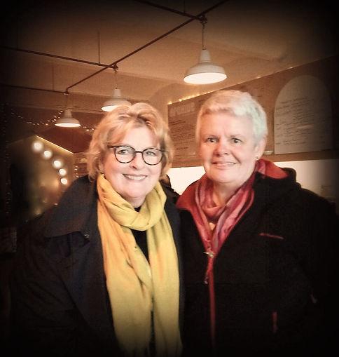 Brenda Blethyn et Catherine Renée Lebouleux