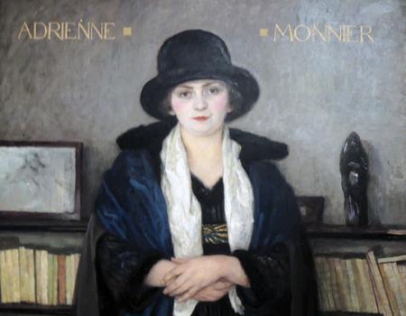 adrienne_monnier_by_PaulEmileBécat