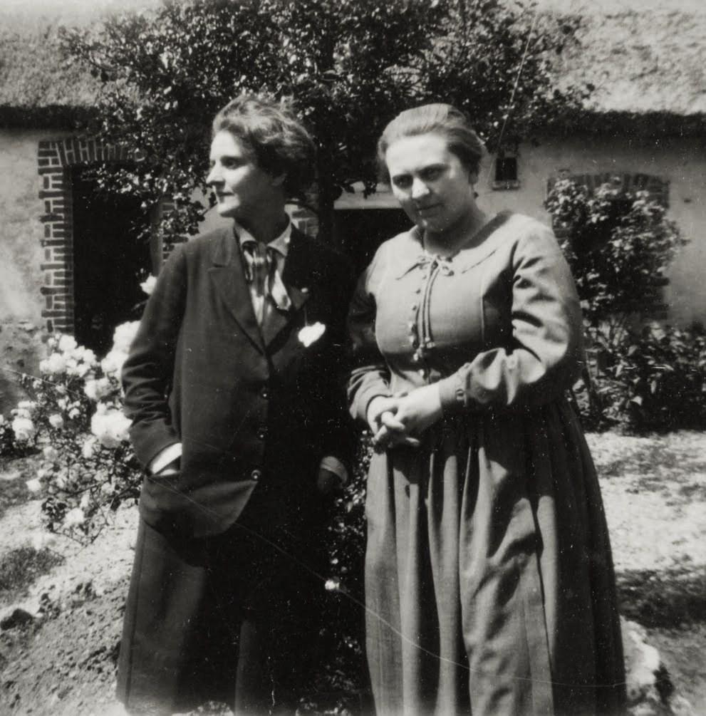 Adrienne Monnier et Sylvia Beach