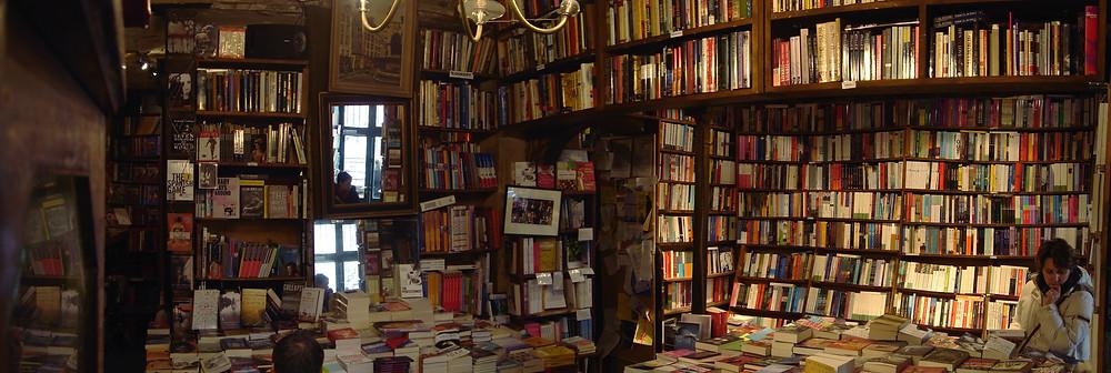 L'actuelle librairie