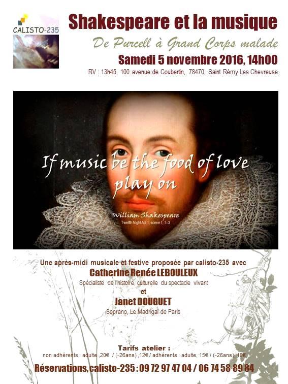 Shakespeare et la musique
