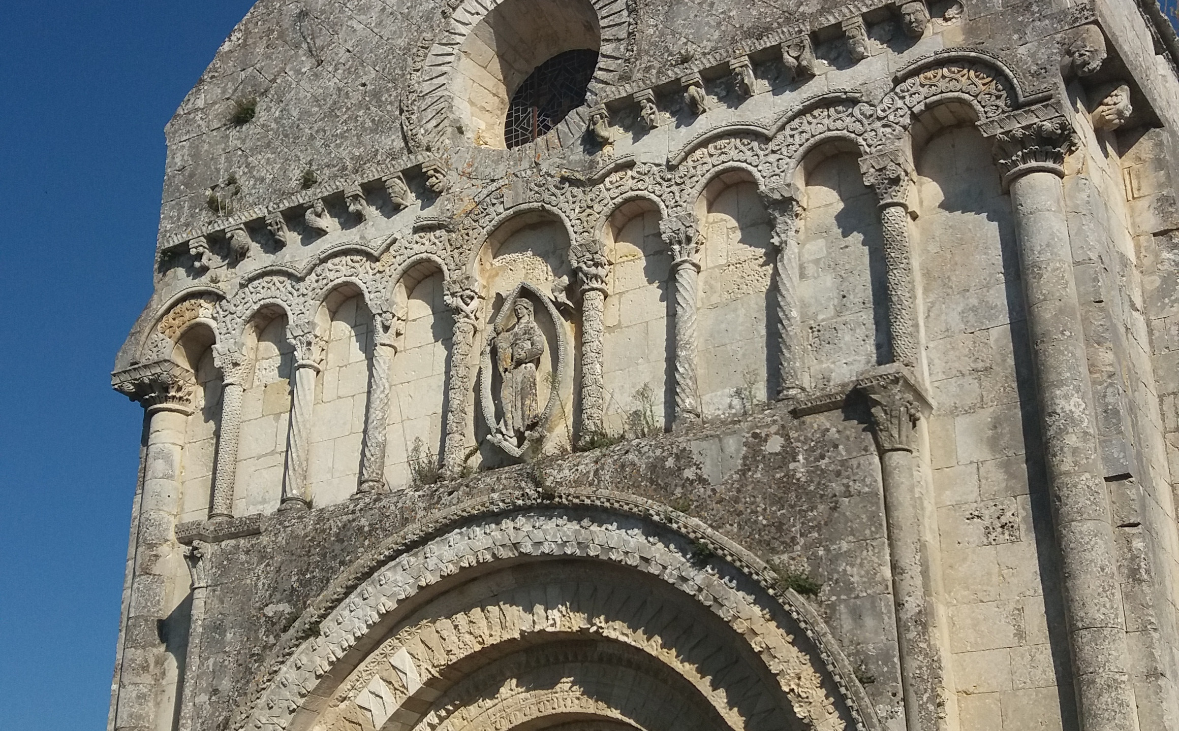 Façade église Rioux