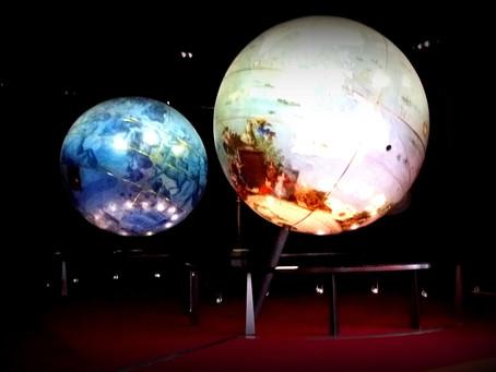 Retour en images sur les globes de Coronelli / BnF, site Mitterrand