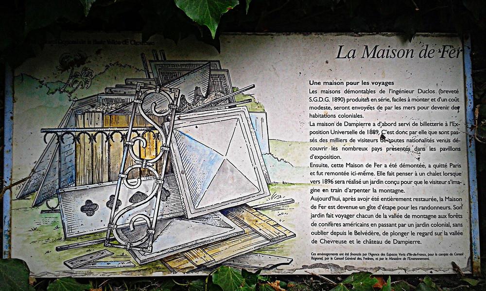 La maison de fer - Une rareté patrimoniale dans les Yvelines