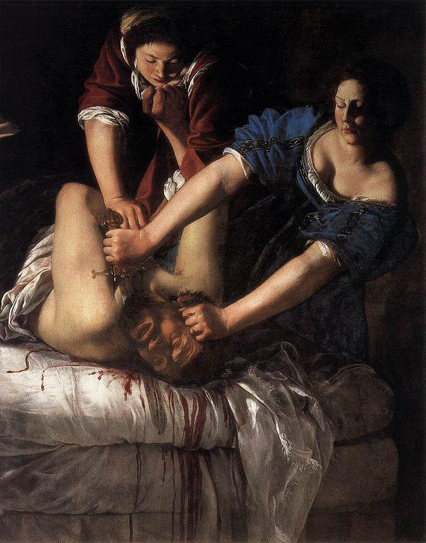 Judith et Holopherne / Artemisia Gentileschi / 1612
