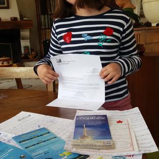Le coin des petits reporters / Marie, junior calisto, nous raconte ses découvertes de vacances