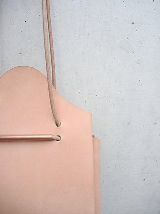 Circle Bag  (natural leather)