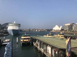 Sydney Harbour– January 10, 2020