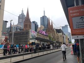 Flinders Street Railway Station, Melbourne – January 5, 2020