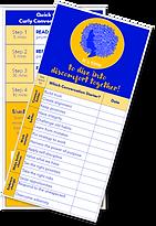 Quick Start Bookmark - Curly Conversatio