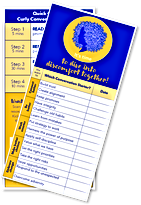 Quick Start Bookmark - Curly Conversatio