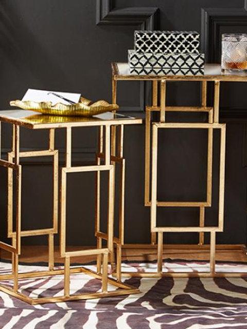 Art Deco Side Table - Set of 2