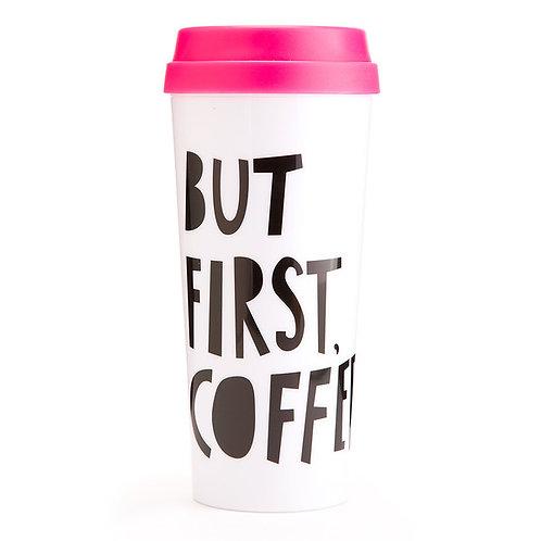 ban.do Thermal Mug - but first, coffee