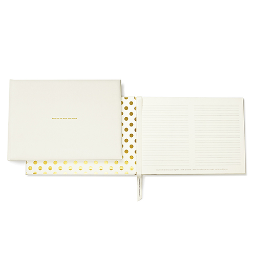Kate Spade Wedding Guest Book