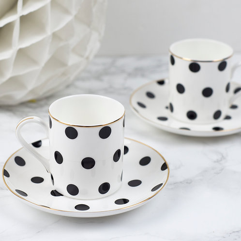 Loulou Polka Dot Espresso Set
