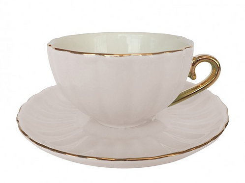 Belle Teacup - Cream