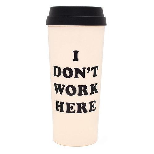 ban.do thermal Mug - i don't work here