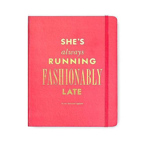 Kate Spade Fashionably Late Agenda - Large