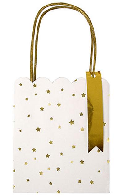 Foil Star Mini Gift Bags