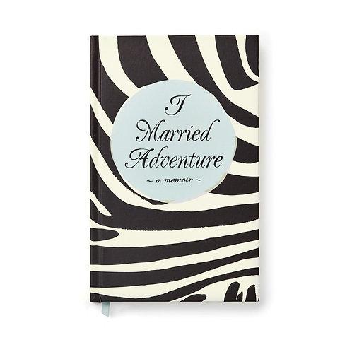 Kate Spade Notebook - I Married Adventure