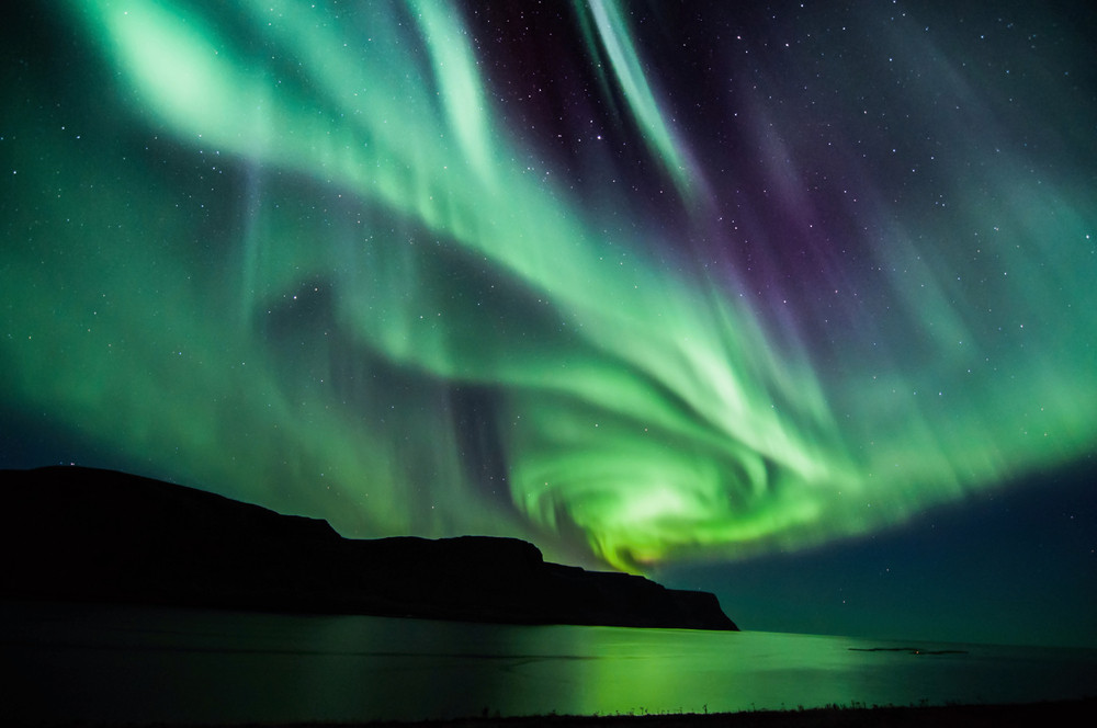 Swirling green ghostly lights sweep across the night sky. This most innovative of museums in Iceland allows you to experience the Northern Lights.