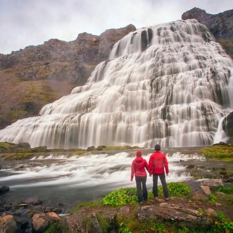 The Hidden Dynjandi Waterfall