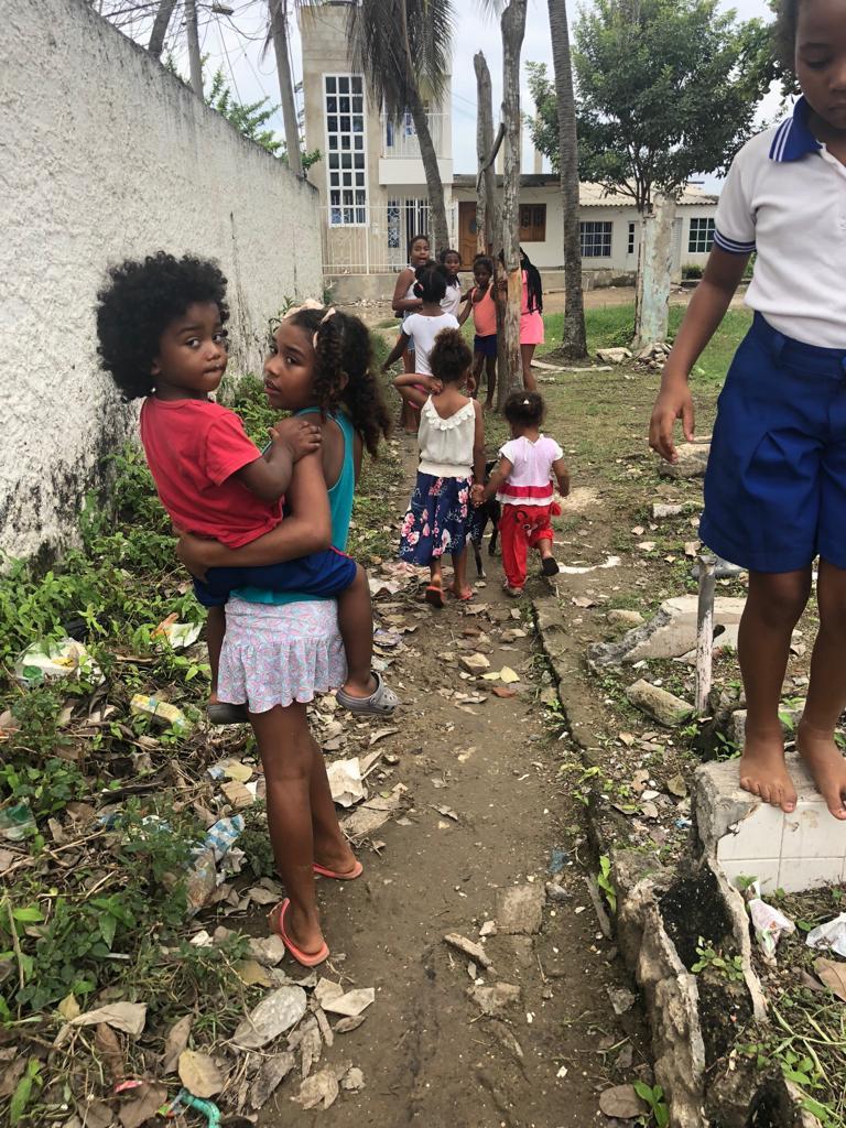 Serie Palenque - Proyecto Comedor Comunitario