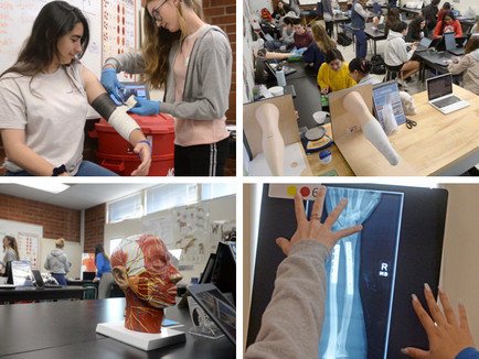 Major Initiative Gives Students Taste of 17 Different Healthcare Specialties